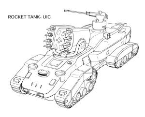 Hyäne Raketenkampfpanzer